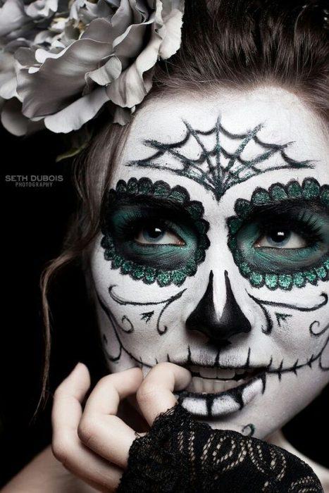 Sugar Skull Girl Wallpaper Las Mejores Ideas De Maquillaje Al Estilo Catrinas