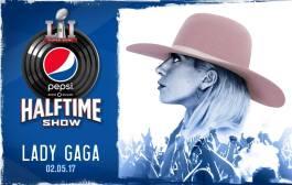 Lady Gaga, al medio tiempo del Super Bowl de 2017