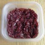 Fresh Caramelised Red Onion Relish ready to be stored