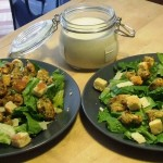 Pesto Chicken Caesar Salad