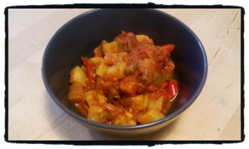 Stewed Ratatouille