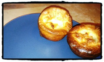 Rushed Yorkshire Puddings