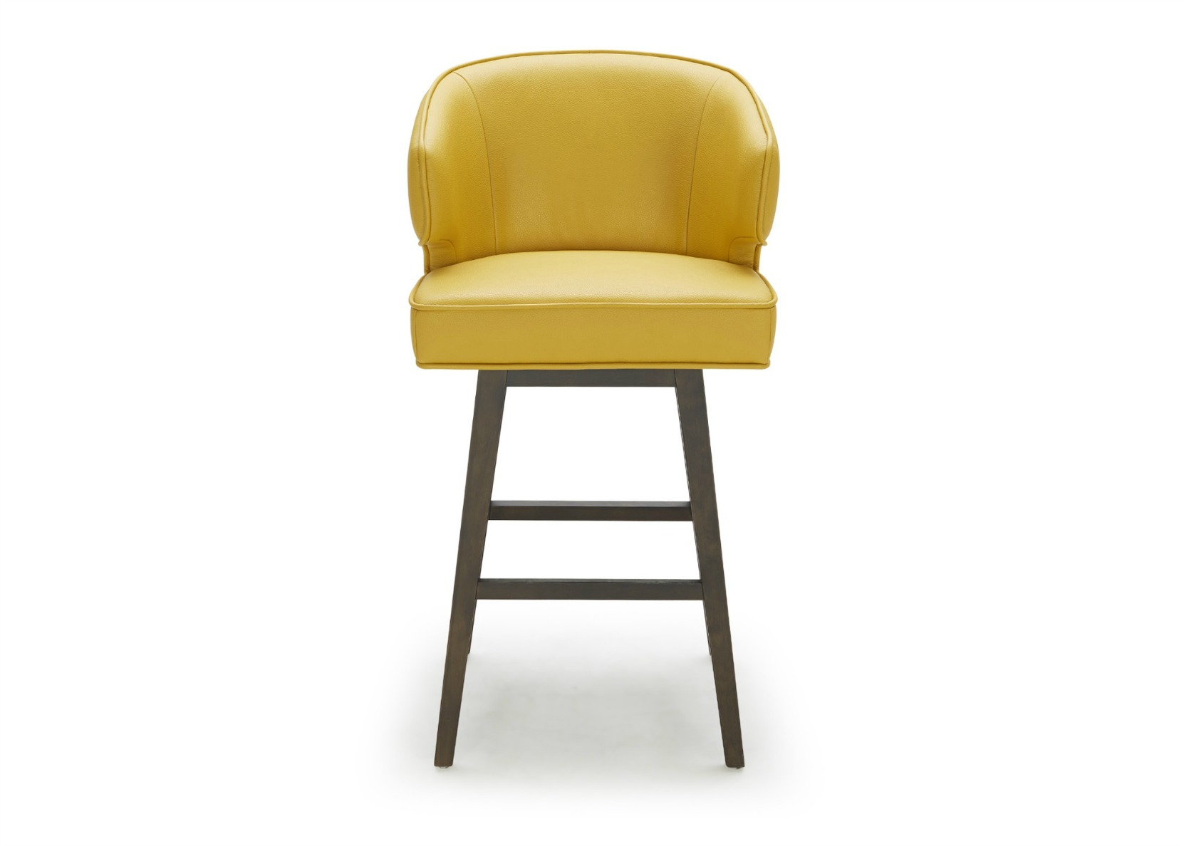 Bright Colored Bar Stools Daisy Bar Stool In Bright Yellow Leather Not Just Brown