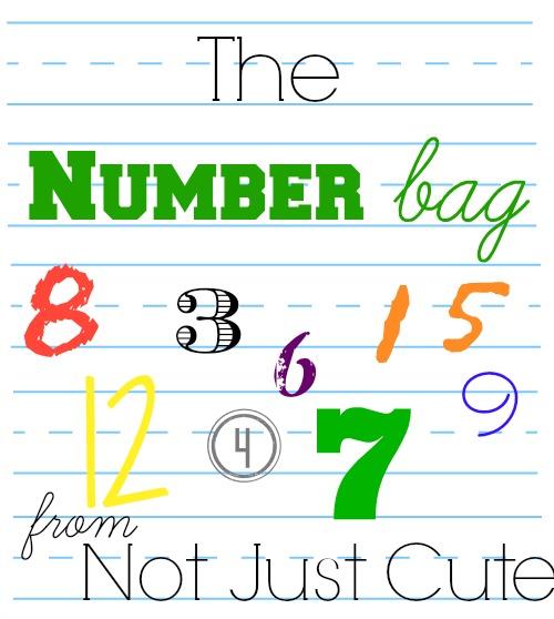 number bag