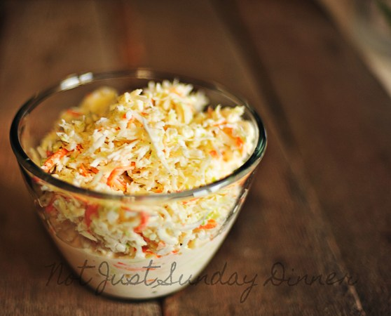 Almost Famous Coleslaw