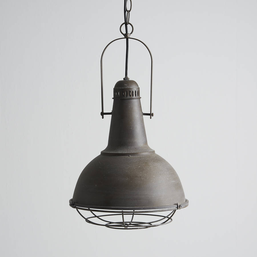 Industrial Hanging Lights Industrial Aluminium Pendant Light By Horsfall & Wright