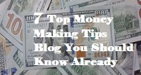 making money tips blogs