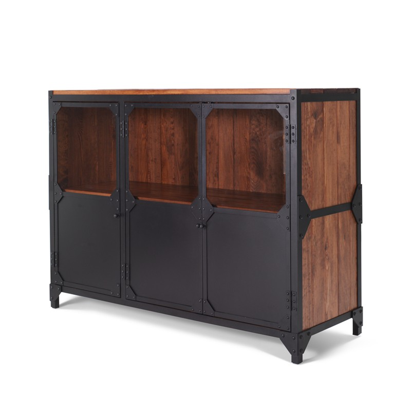 Sideboard Holz Metall Anrichte Sideboard Brooklyn Aus Eisen In Industrial Design
