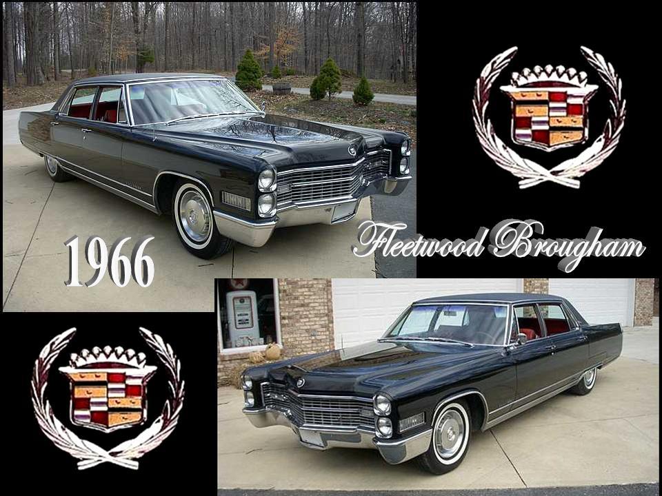 1966 Cadillac Fleetwood Brougham \u2013 NotoriousLuxury