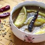Kacha Aam er Chutney/Bengali style Sweet Raw Mango Chutney