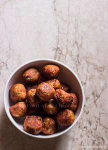 Golden fried Manchurian Balls