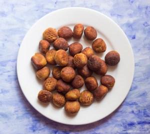 Golden brown Paneer koftas