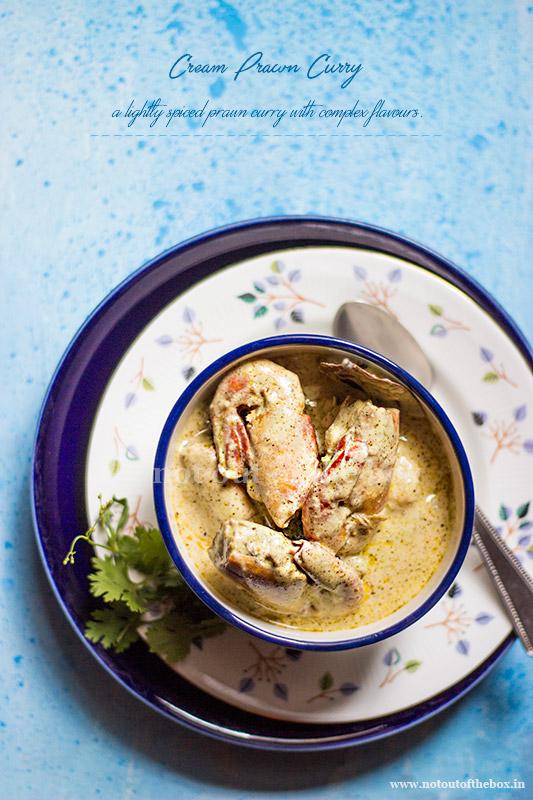 Cream Prawn Curry/Cream Chingri