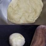 Samosa dough and dough ball