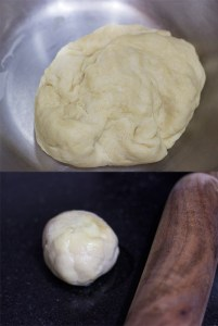 Samosa dough and dough ball
