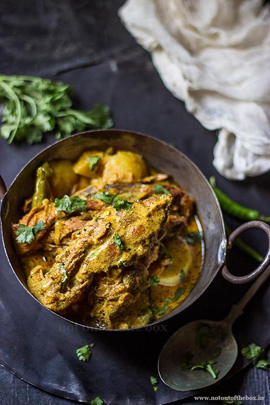 Sorshe Pomfret/Mustard Pomfret Curry