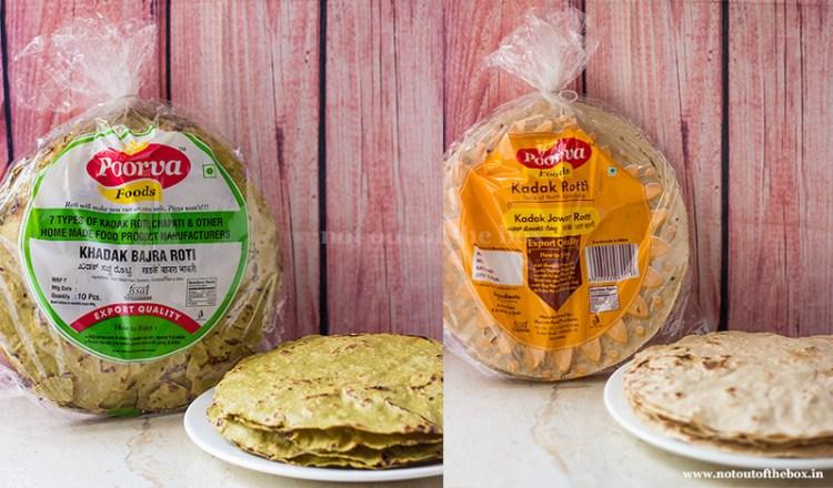 Kadak Bajra Roti and Kadak Jowar Roti