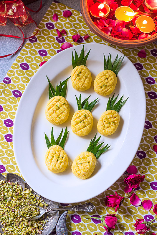 Pineapple Sondesh