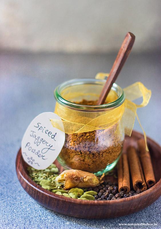 Spiced Jaggery Powder