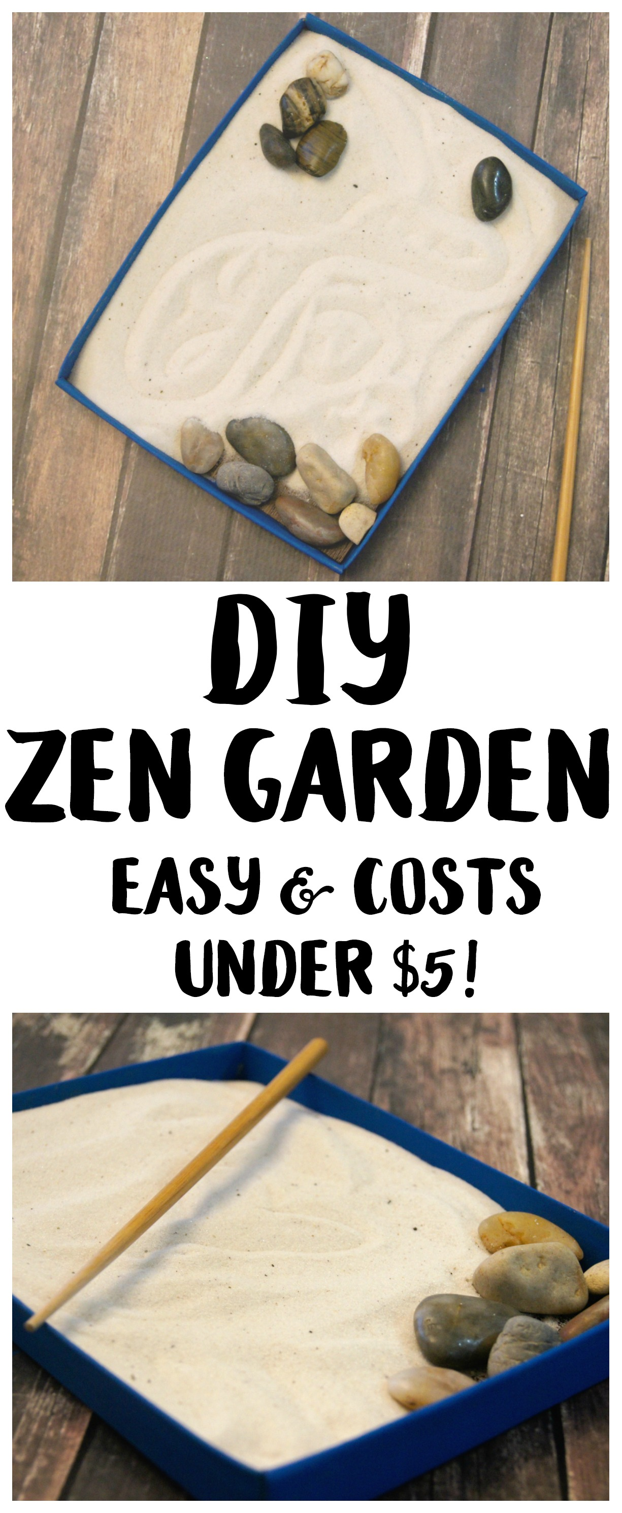 Table Top Zen Garden Diy Tabletop Zen Garden Under 5 Craft Not Quite Susie