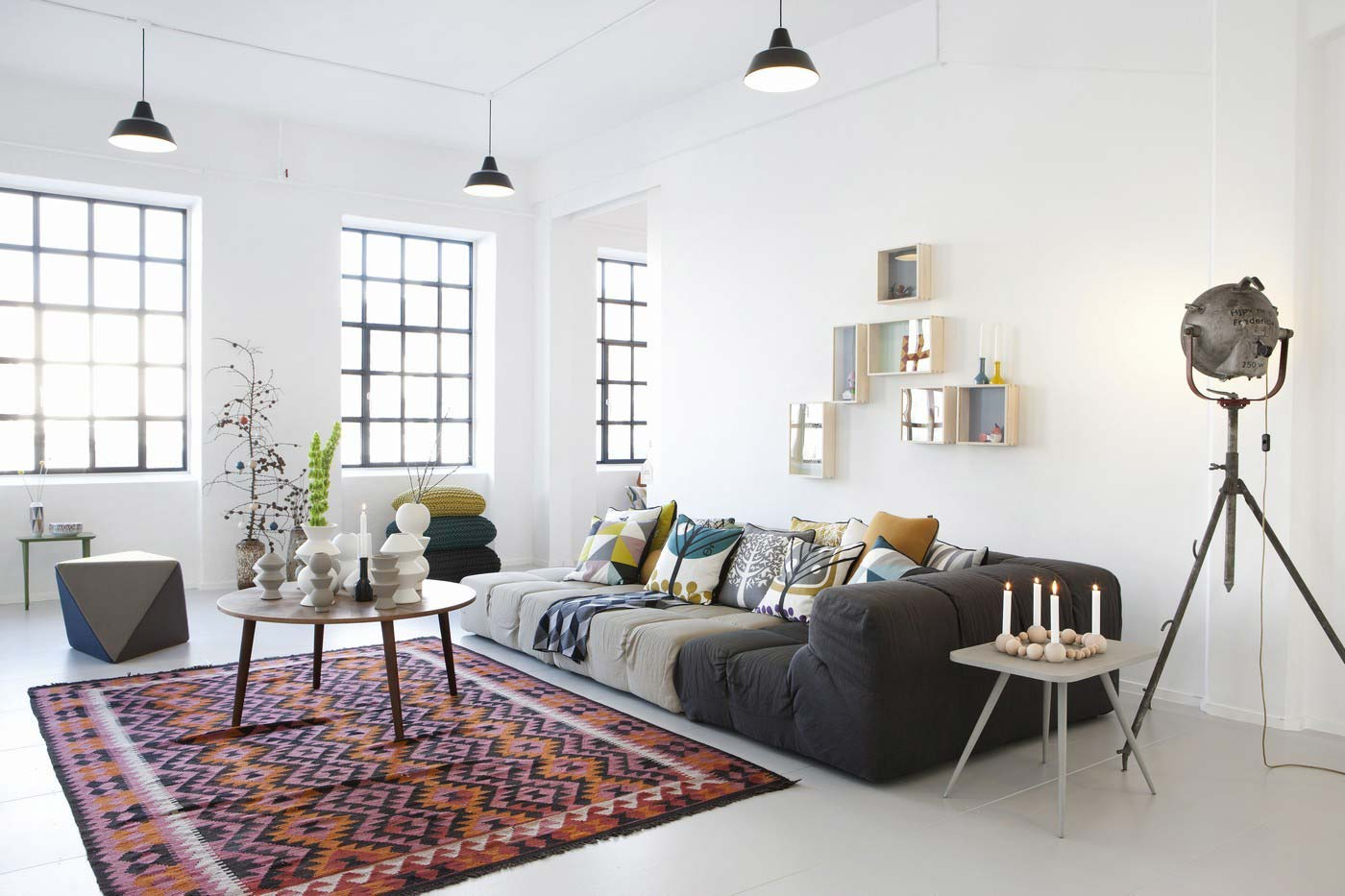 Loungebank Woonkamer Ferm Living Déco Scandinave And Vintage