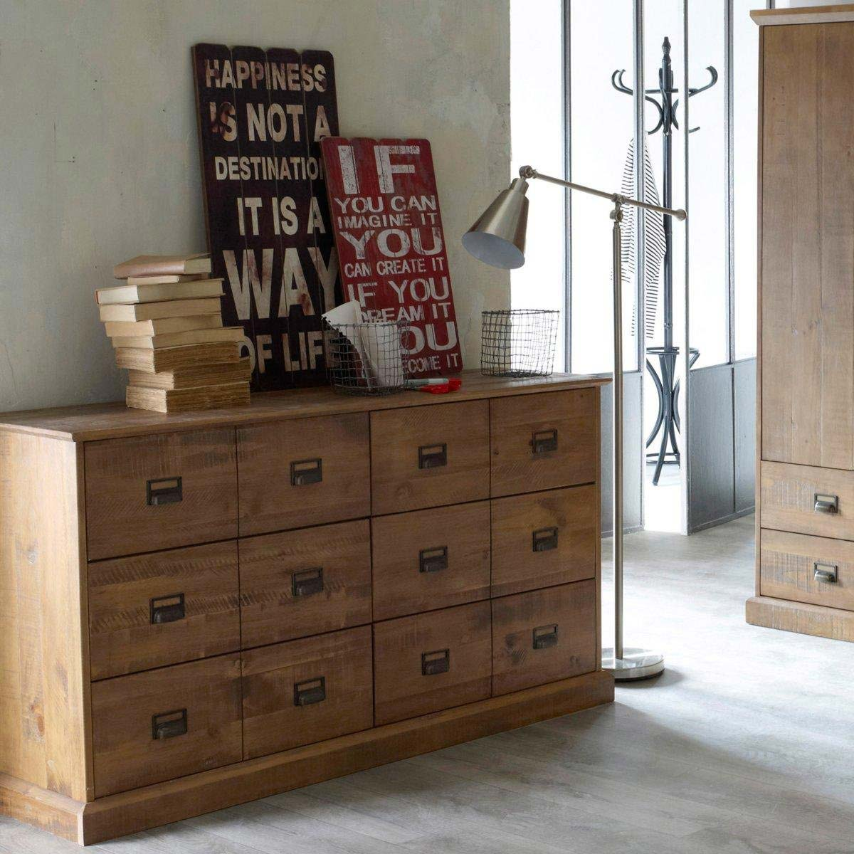 Meuble Semainier Commode En Pin Massif Par La Redoute