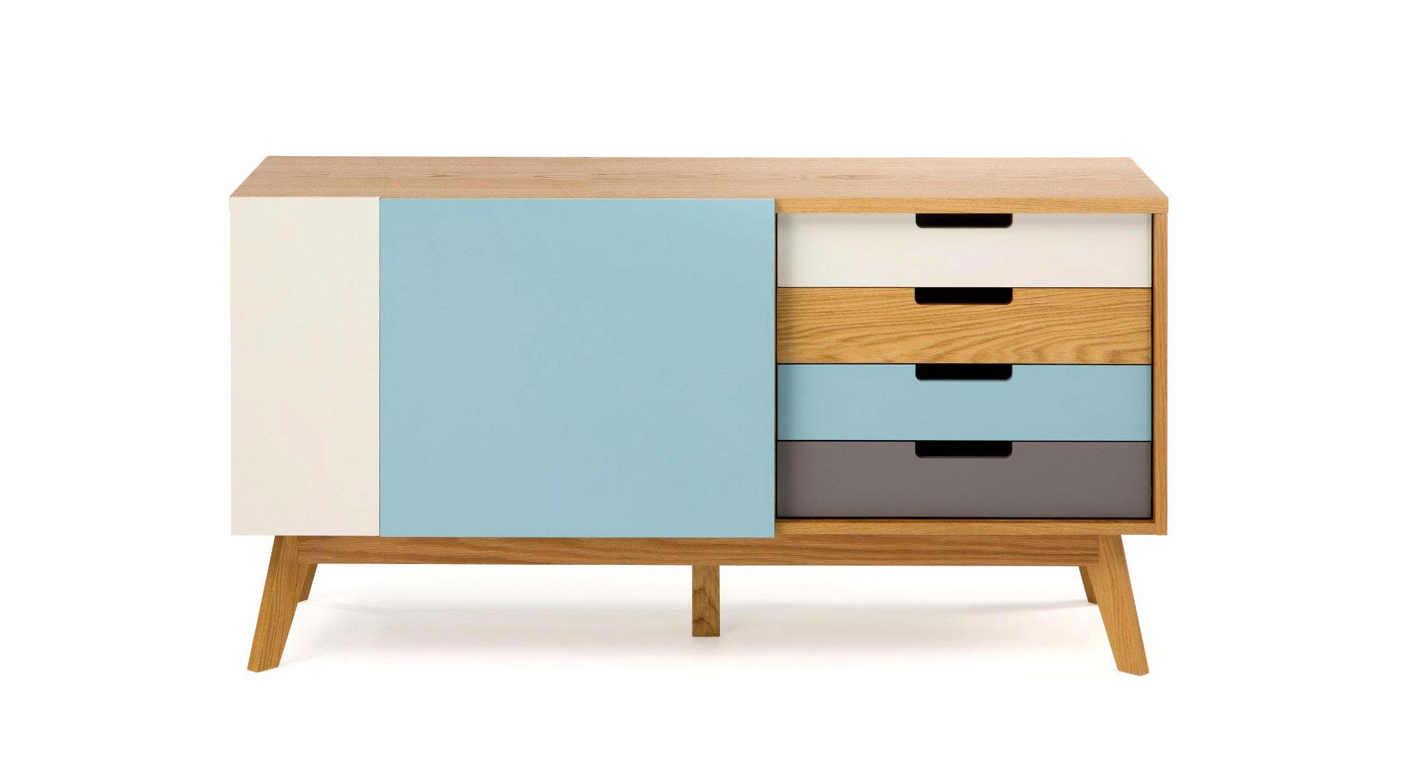 Meuble Buffet Scandinave Buffet Scandinave Coloré