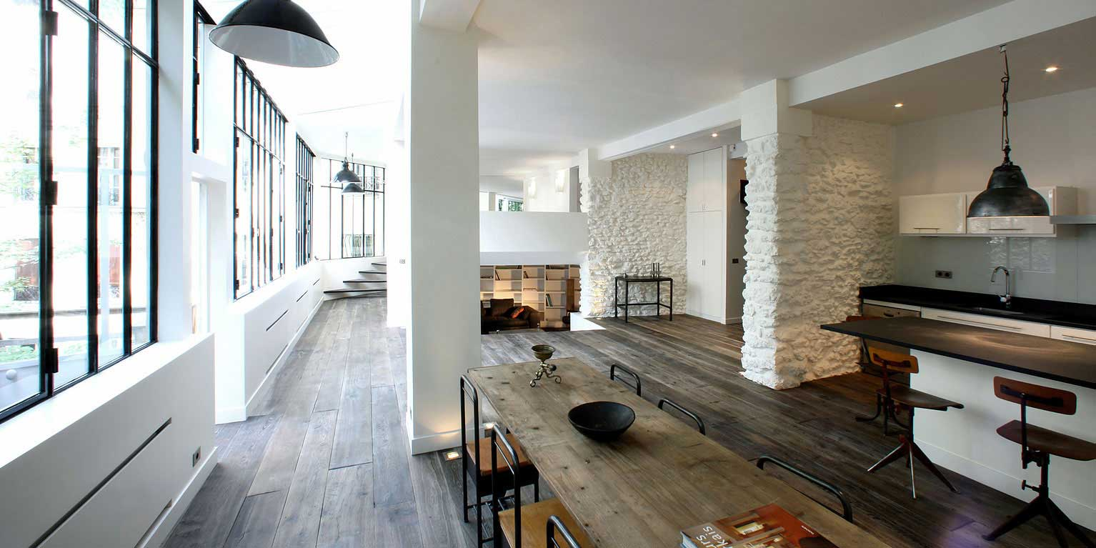 Agence Decoration Interieur Paris Loft à Montmartre Par 2design
