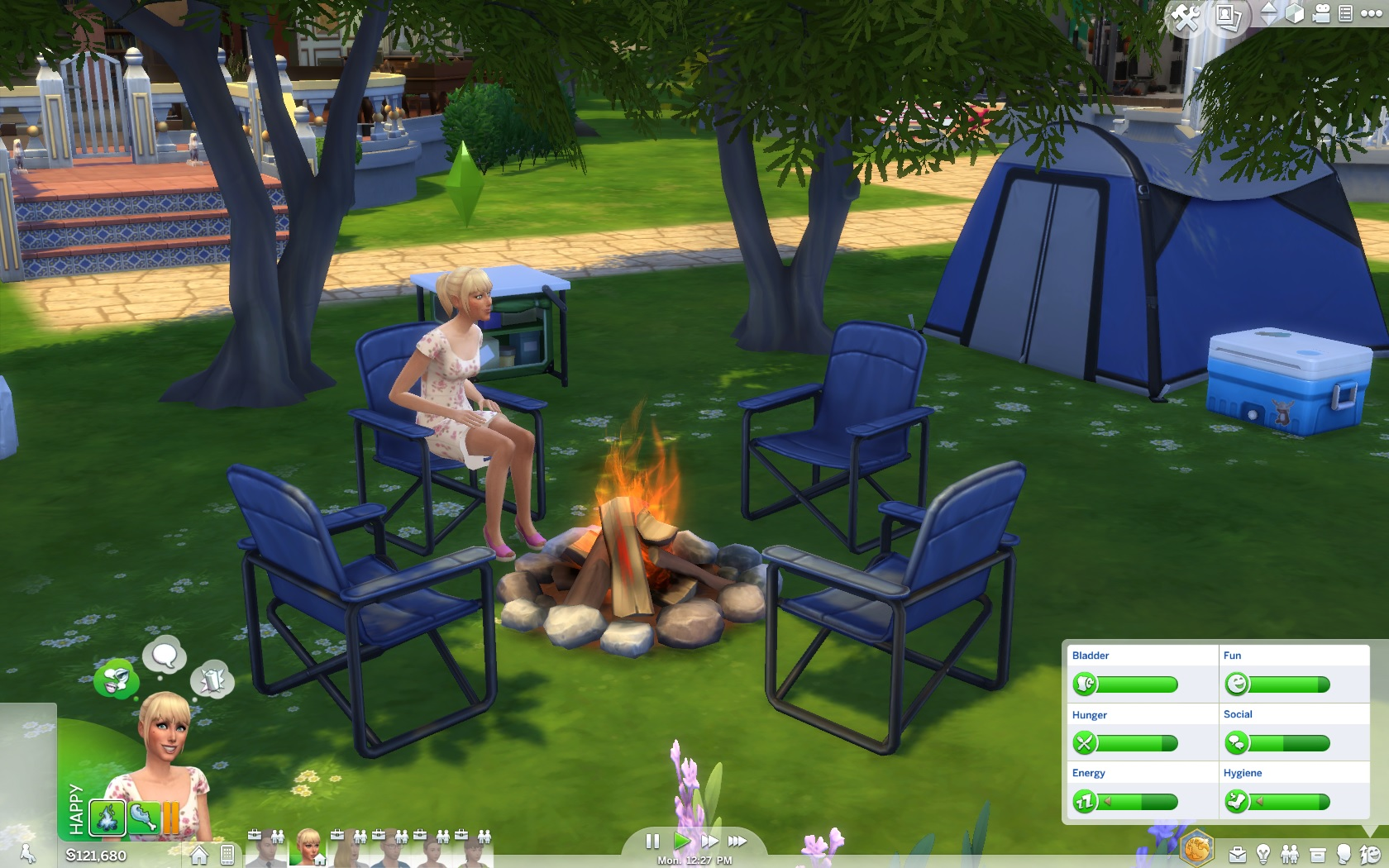 4 Camping Sims 4 Outdoor Retreat Not So Sour Lemons