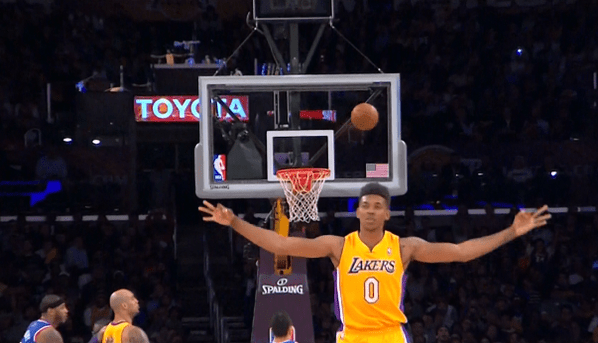 Kobe Bryant Animated Wallpaper Gif Lakers F Nick Young Celebrates A Three He Missed