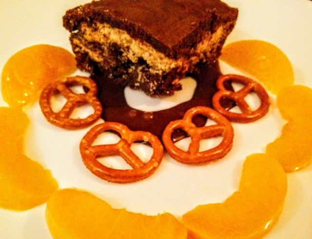 Chilli Pretzel Sugarfree Brownie