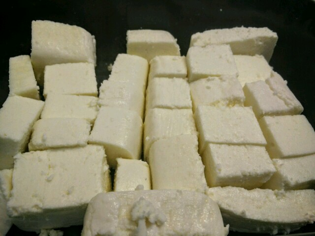 Chopped Malai Paneer or cotttage cheese