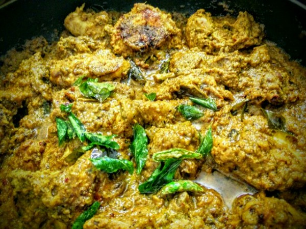 Kerala Black Pepper Chicken