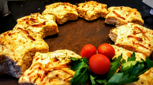 These cheese and rosemary scones are perfect for a Christmas meal