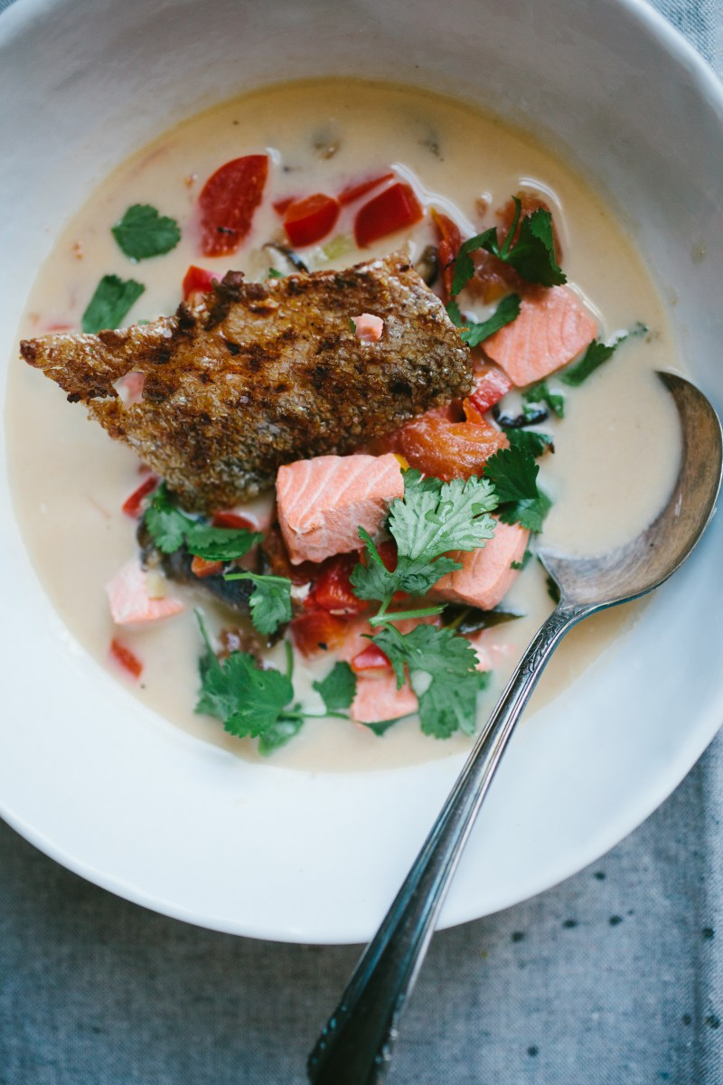 Thai-Style Salmon Chowder // Not Without Salt