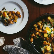 Salt and Vinegar Potato Hash // Notwithoutsalt.com