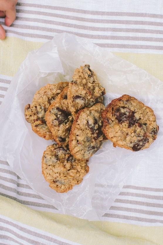 oatmeal pecan cookies // not without salt