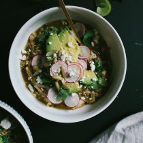 Roasted Green Pozole // Not Without Salt