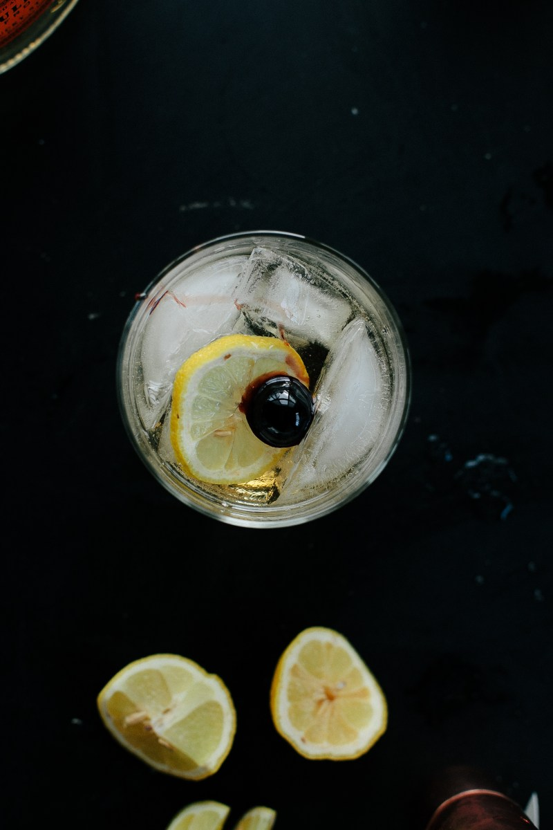 Bourbon Tonic // Not Without Salt