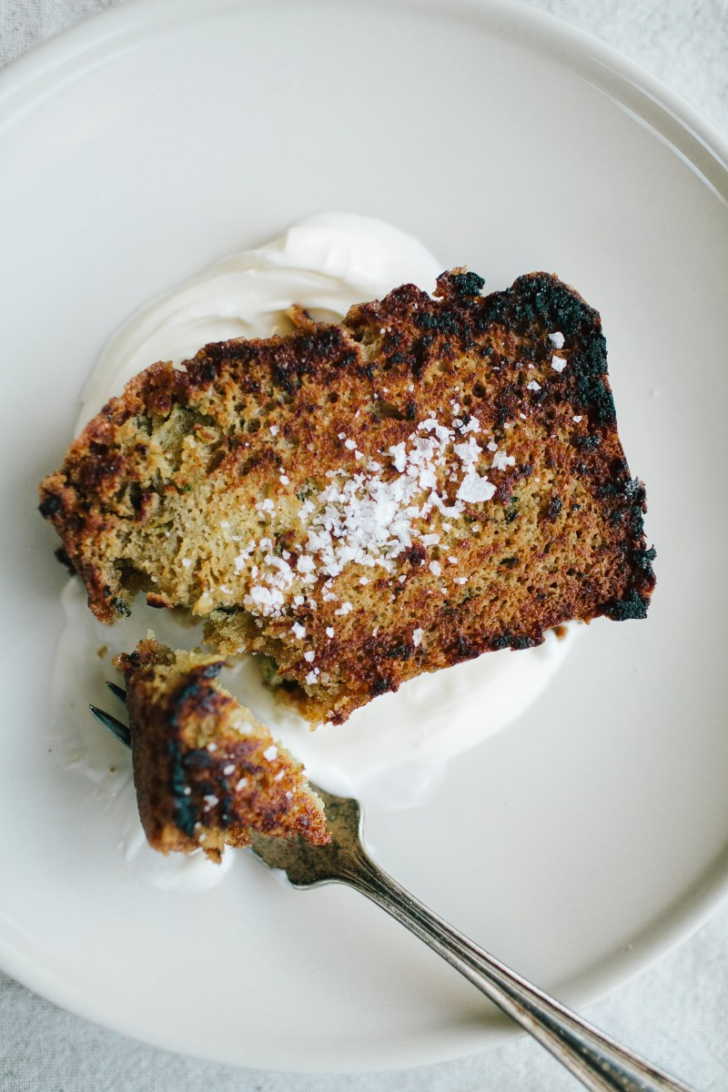 Olive Oil Zucchini Cake // Not Without Salt
