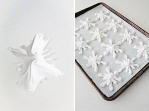 Snowflake Meringues // notwithoutsalt.com
