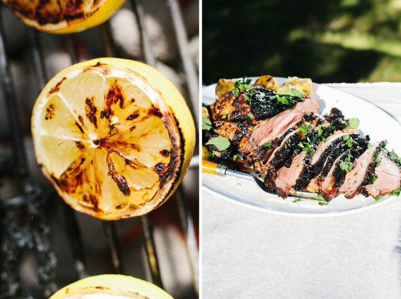 Grilled Leg of Lamb // Not Without Salt