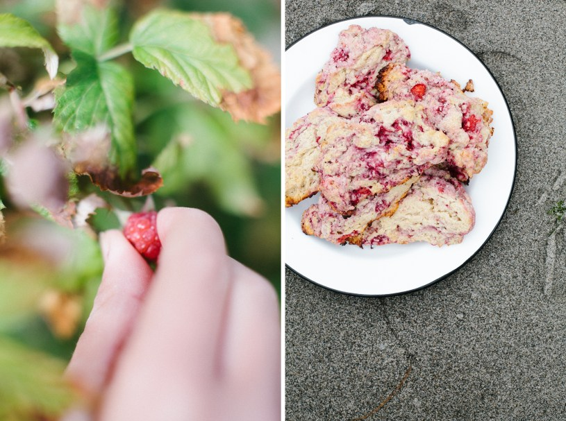 Fresh Raspberry Scones // Not Without Salt