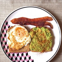 Bacon Avocado and Egg (BAE) Sandwich