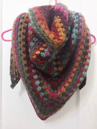 Quick & Simple Granny Shawl  not your average crochet