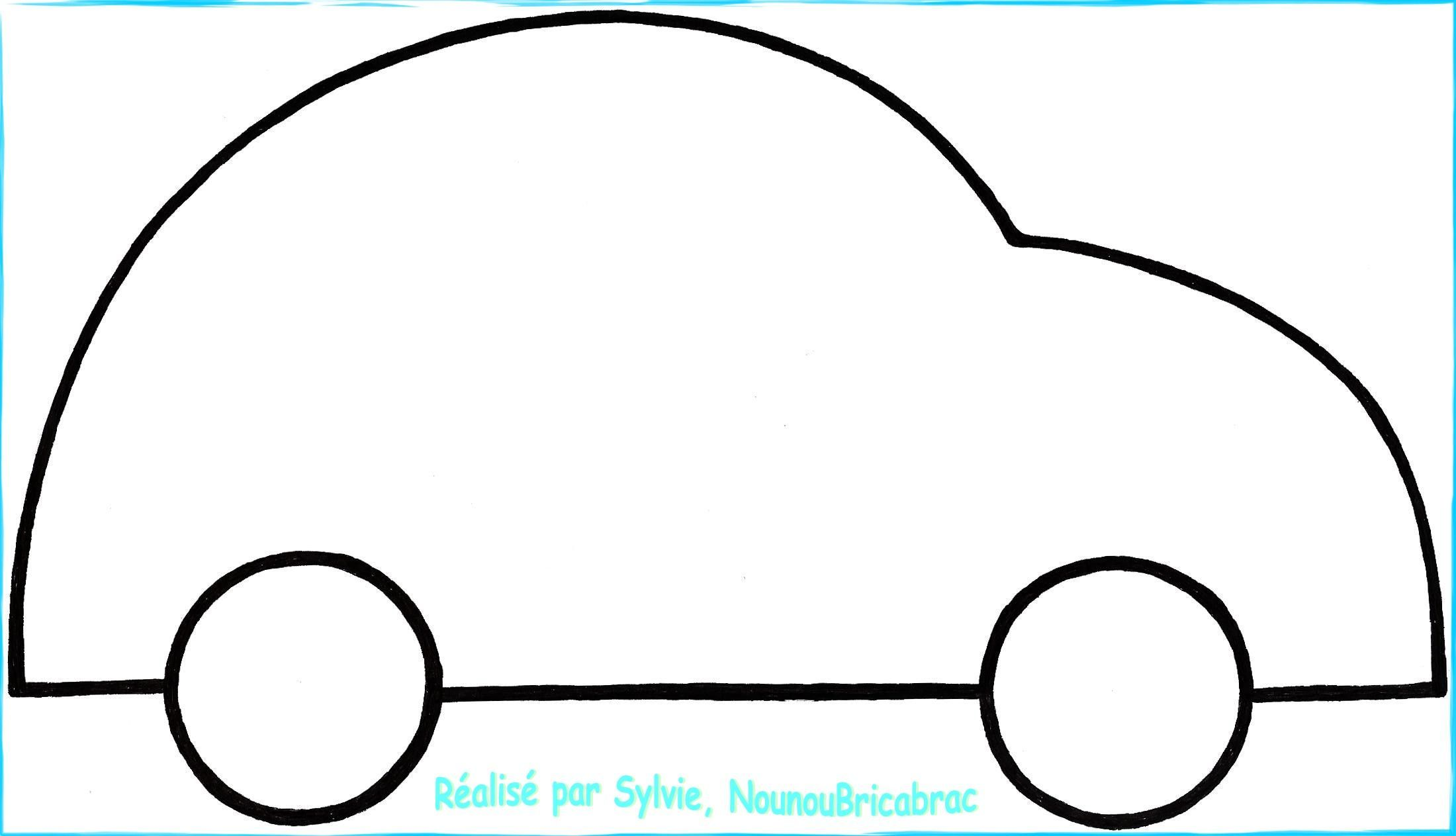 Dessin Simple A Realiser Coloriage Voiture Profil