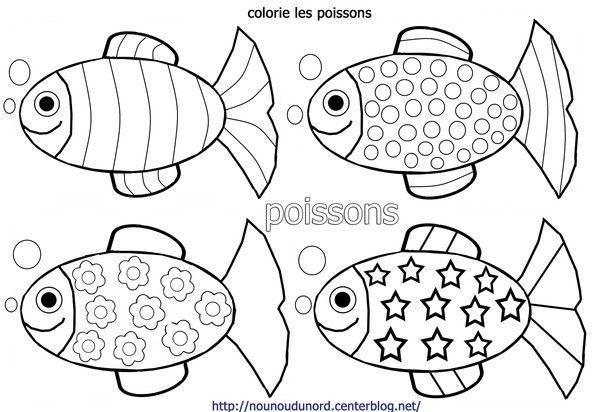 Free printable for kids, poissons du0027avril, enfants, illustration - dessin de maison a imprimer