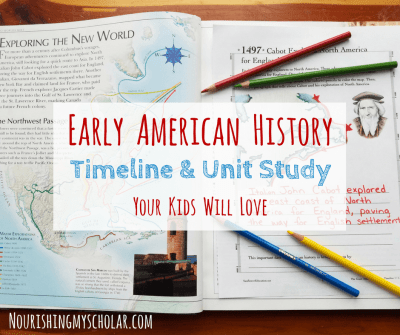 Early American History Timeline and Unit Study ~ Nourishing My Scholar
