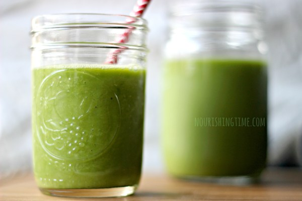 Arugula Pineapple Avocado Smoothie