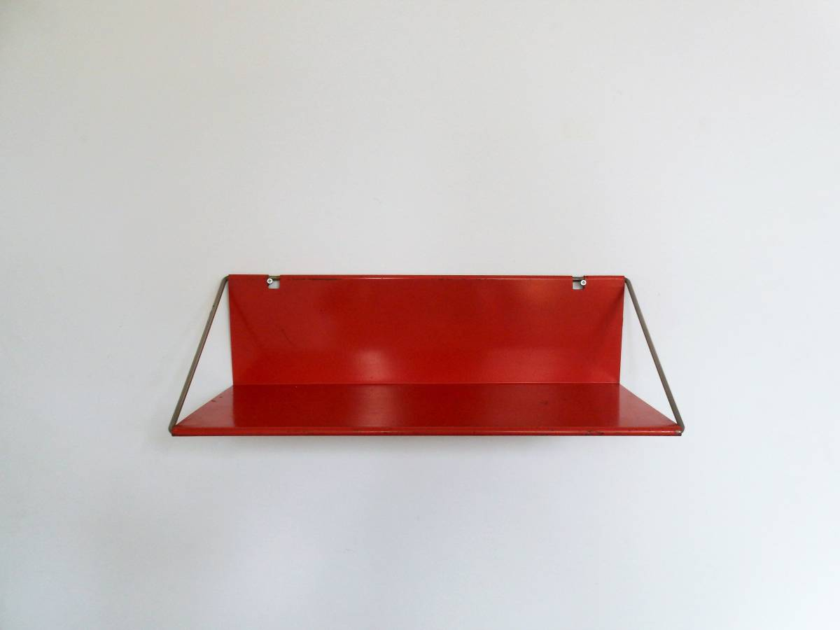 Vintage Shop Utrecht Red Utrecht Shelf By Constant Nieuwenhuys For T Spectrum The